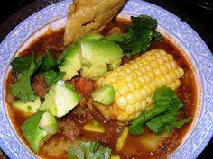Cocido de Res: Mexican Beef Stew