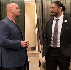 Roman Reigns and stone cold steve austin