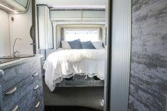 Trakkaway motorhome bedroom interior design