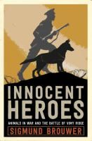 Provides fictional accounts of animals and their heroic exploits in World War I, including a dog who warns soldiers of a gas attack, a cat who saves s