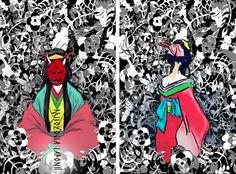 Mitologia Japonii | zoom | digart.pl