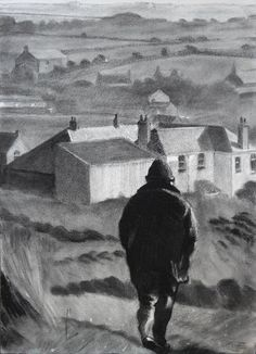 Going home - The Art of Tom Henderson Smith Charcoal Drawings, Going Home, Virtual Tour, Gallery, Landscapes, Painting, Image, Google Search, Art