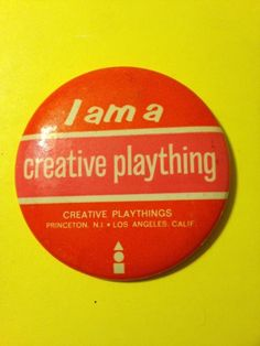 Creative Playthings Pin / Ebay
