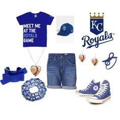 Kansas City Royals, created by tara-walker on Polyvore
