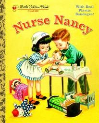 One of my favorite childhood books. Now...I'm a nurse  and read this  book to my  daughters:)