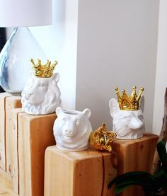 Save this to get these adorable Lulu and Georgia Your Highness Bear Containers.
