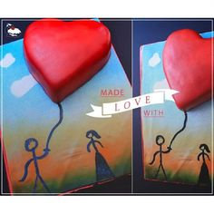 """""""#Love #Passion #Happiness #picoftheday #coupels #Sweets #Desserts #cakes #Art #Hearts #Chocolates #Cupcakes #Valentine #Cakes_Land_Egypt #food…"""""""