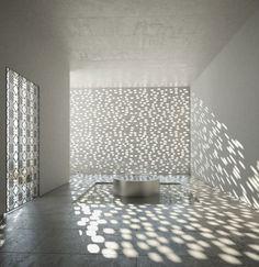Increíble efecto de luz. Lan architecture Mirror tower