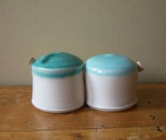 .Vintage blue and white S&P set