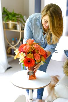 Fall Decor Coffee Beans and Bobby Pins Blog Blogger Lifestyle Shoot