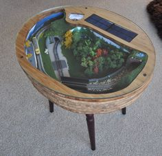 Coffee Table Z Scale Train Sets 8