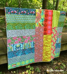 My Quilt Infatuation: Acadian Trellis- pieced backing