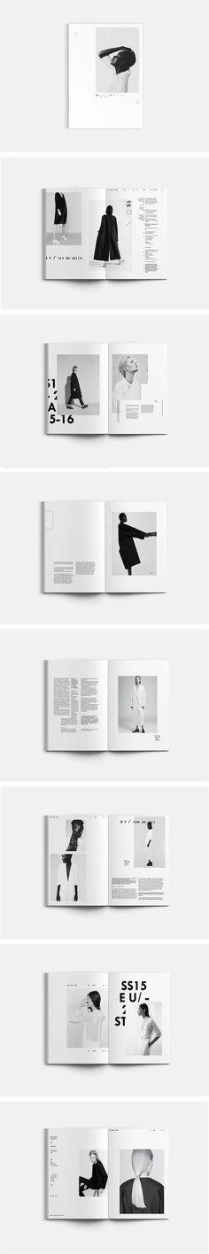 (54) A lookbook for fictional brand QUOOR | graphic design | Pinterest / Graphic / Design / Ideas / Inspiration / Minimal / B&W / Gray Tones / Geometric / Modern