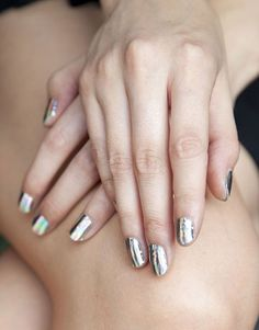 Spring 2012 Nail Trends: Chrome Hologram Minx at Missoni