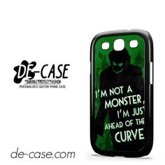 Joker Quotes DEAL-5941 Samsung Phonecase Cover For Samsung Galaxy S3 / S3 Mini