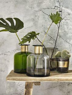 Nordal Vase Dark Green