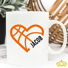 Personalized Basketball Name Decal for Tumbler, Car, or Laptop- Basketball Mom Decal