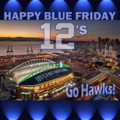 blue friday seahawks hawks - Google Search www.HomematchNW.com #homematchnw…