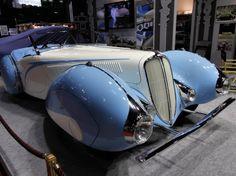 Figoni Auto Mobile | ... 2013 : Delahaye Type 135-M roadster Figoni&Falaschi de 1937