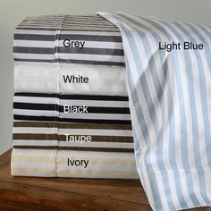 Cabana Striped 600 Thread Count Cotton Blend Sheet Set | Overstock™ Shopping - Great Deals on Sheets
