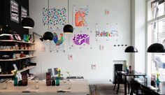 Neon Circus by Antti Kalevi, via Behance