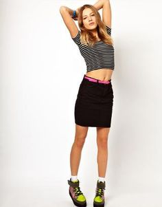 #asos                     #Skirt                    #American #Apparel #High #Waisted #Twill #Skirt     American Apparel High Waisted Twill Skirt                                     http://www.seapai.com/product.aspx?PID=1380053