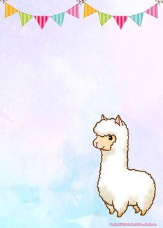 Free Llama Birthday Invitation Templates Birthday