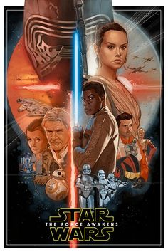 """Phil Noto's """"Star Wars: The Force Awakens"""" Poster Isn't Official, But It Should Be - CBR"""