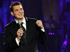 Michael Buble- Love, love dancing to his music at Jazzercise!