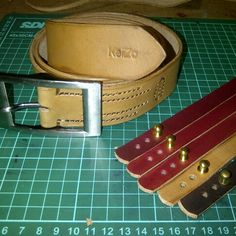 Some leather goods for Christmas