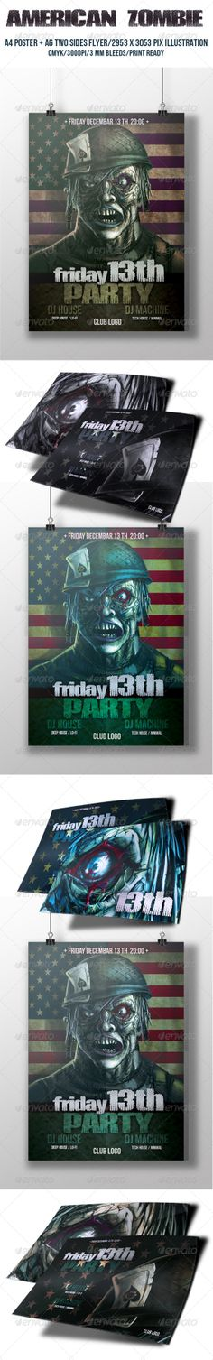 Kids Christmas Party Flyer Best Party flyer ideas - zombie flyer template