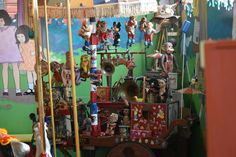 Carousel Museum, Painting, Art, Art Background, Painting Art, Kunst, Paintings, Performing Arts, Painted Canvas