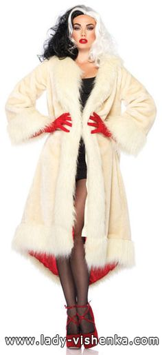 Cruella Coat Satin Lined Adult Costume - Cruella Coat Satin Lined Adult Costume & Halloween Costumes from our New Items section. Costume Cauldron is the web's finest theatre and Halloween store. Disney Halloween, Halloween Costume Diy, Halloween Outfits, Halloween Party, Christmas Costumes, Dog Halloween, Female Halloween Costumes, Original Halloween Costumes, Female Villain Costumes