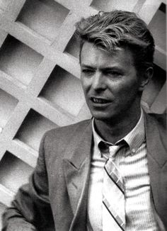 David Bowie. I loved him then, and I love him now
