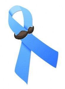 Thanking my kids for supporting their dad through his fight...Prostate Cancer ribbon with mustache, for daddy <3.
