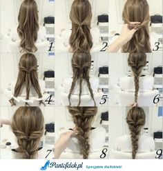 Prostą fryzura, którą wykonasz sama