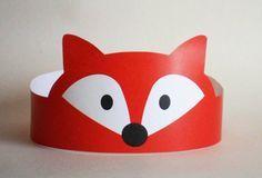 animal crown make your own printable - Google Search