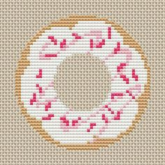 donut cross stitch