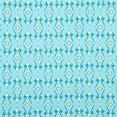blue Diamonds Are Forever Cloud 9 organic fabric Lotus Pond