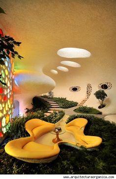 The Nautilus House interior #4/4 --- exterior: http://pinterest.com/pin/131026670379000698