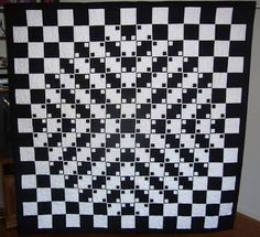 Image result for optical illusion quilt