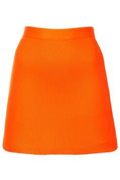 Airtex Foam Mini Skirt - Skirts - Clothing - Topshop Europe