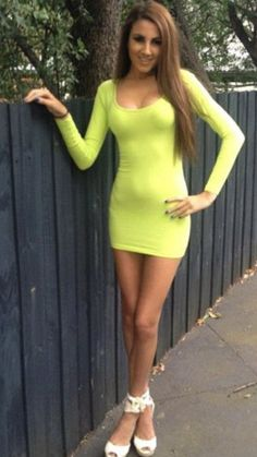 1000+ images about Sleeve Mini Dresses on Pinterest | Tight ...