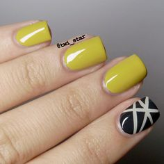 Julep • Alma (mustard) • // Shocker of a colour but amazing nonetheless
