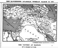 Un siglo de la Revuelta Árabe de 1916 : así la contaron The Guardian y The Observer / @eldiarioint   #socialgeo #historierio