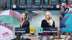 2016 Vans US Open of Surfing: Quarterfinal, Heat 2