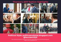 Political Style: Infographic: Theresa May's Clothes in 2017