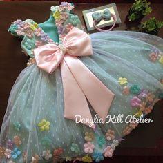 Girls Pageant Dresses, Dresses Kids Girl, Kids Outfits, Flower Girl Dresses, Baby Girl Birthday Dress, Birthday Dresses, Dress Anak, Baby Dress Design, Baby Frocks Designs