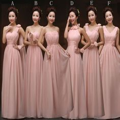 Blush pink bridesmaid gown,pretty bridesmaid by solo on zibbet Bridesmaid Dresses Under 50, Blush Pink Bridesmaid Dresses, Classy Prom Dresses, Prom Dresses For Teens, Beautiful Prom Dresses, Dresses 2016, Blush Prom, Bridesmaid Ideas, Fall Wedding Gowns