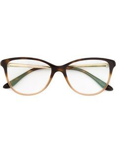 Shop Bulgari two-tone glasses in André Opticas from the world s best  independent boutiques at 1876a80a460